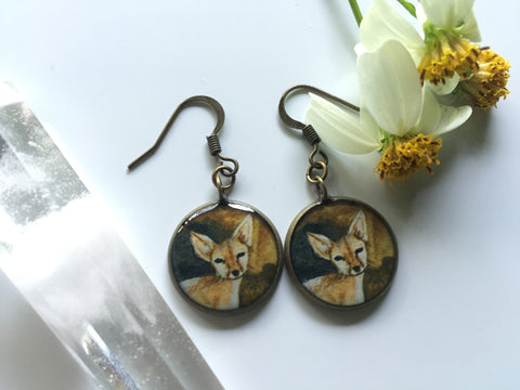 Coyote (Earrings)
