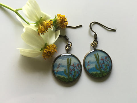 Saguaro National Park (Earrings)