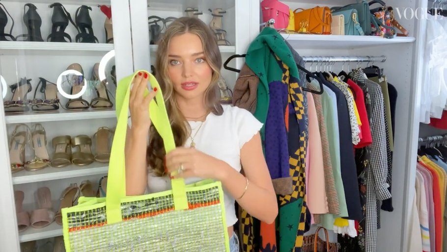 aNYbag Featured in British Vogue with Miranda Kerr