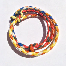 Load image into Gallery viewer, Braided Rope Bracelet - Multi Color (bracelet) - Accessories Made in USA | Made By Alex