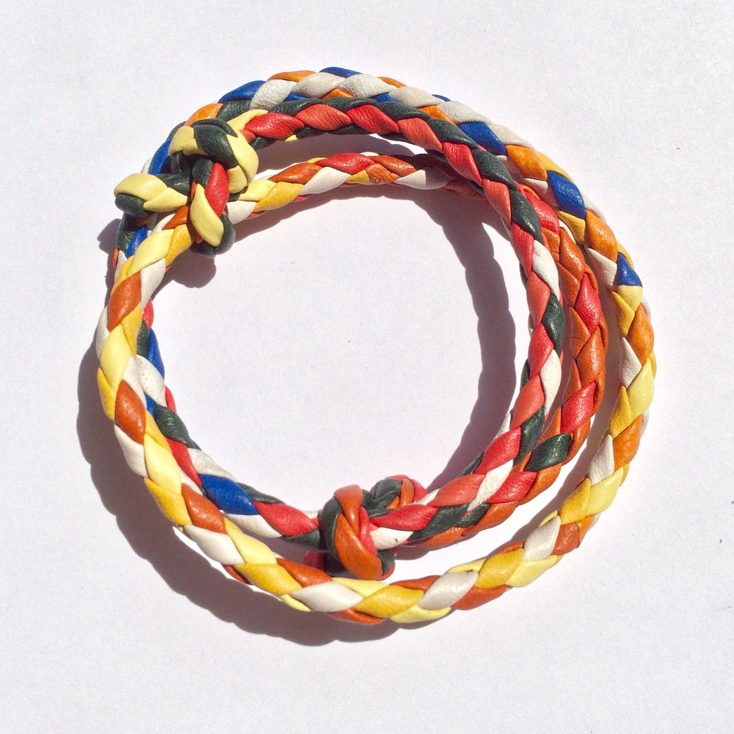 Braided Rope Bracelet - Multi Color (bracelet) - Accessories | Made By Alex