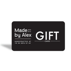 Gift Card - Gift Card | Made By Alex