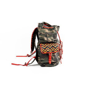 Drawstring Backpack - Backpack Made in USA | Made By Alex