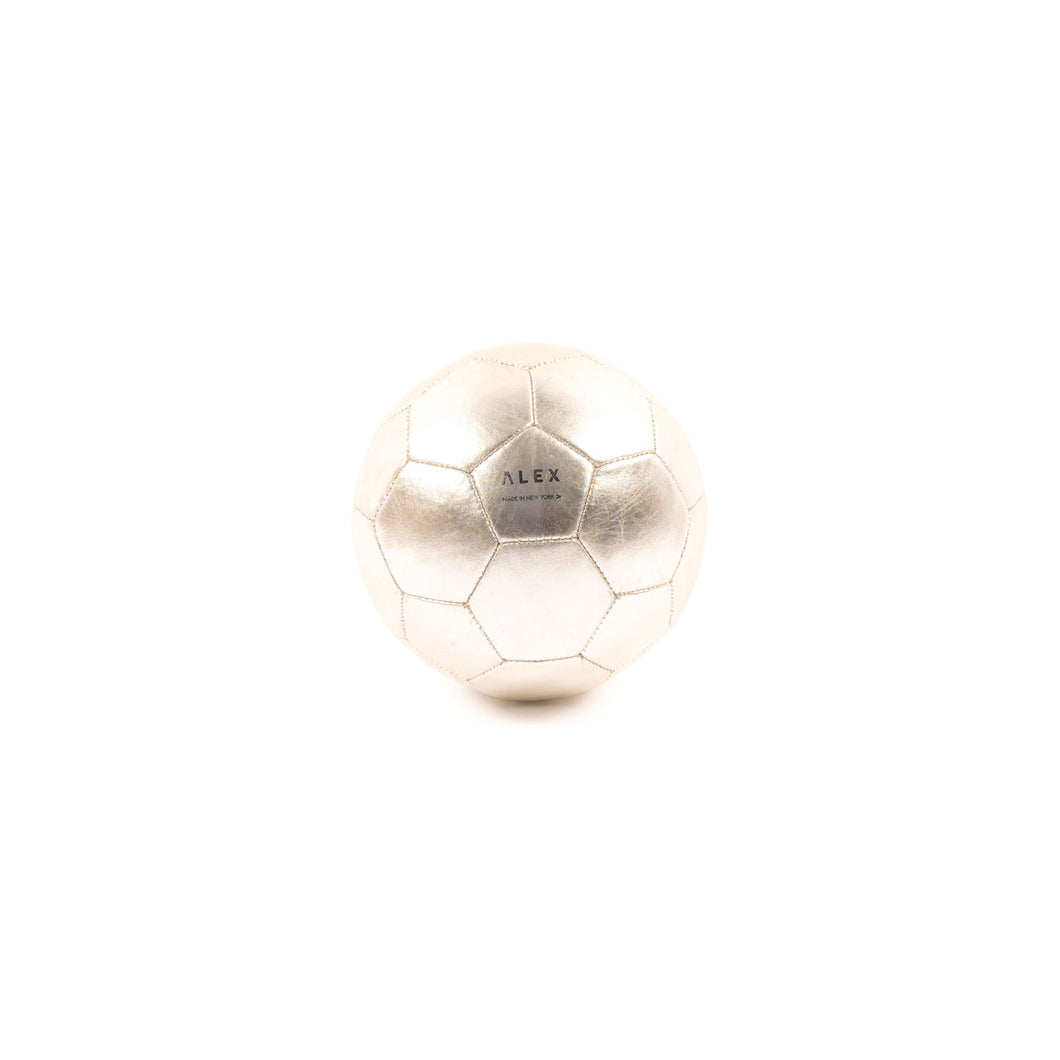 Soccer Ball - Silver (Soccer) - Athletics | Made By Alex