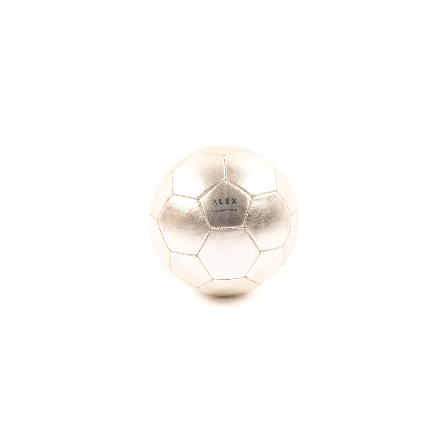 Soccer Ball - Silver (Soccer) - Athletics Made in USA | Made By Alex