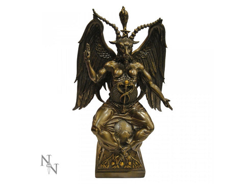 Baphomet Bronze Large 38cm - Eldertree Apothecary