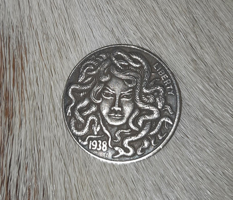 Medusa Head coin - Eldertree Apothecary