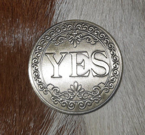 Yes\No Coin - Eldertree Apothecary
