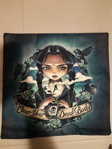 Wednesday Addams Pillow case - Eldertree Apothecary