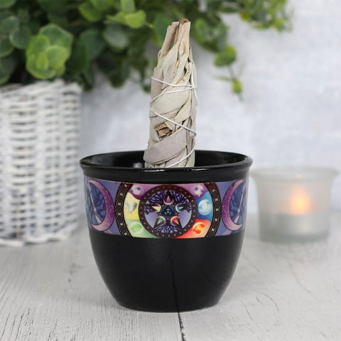 Pentacle Smudge Bowl - Eldertree Apothecary
