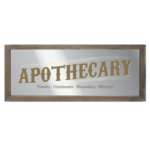 CABINET OF CURIOSITIES MIRRORED WALL ART - Eldertree Apothecary