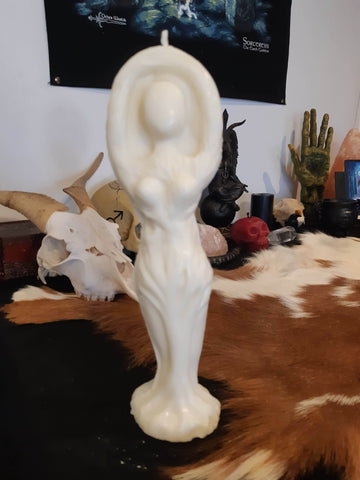 Standing Goddess Candle - Eldertree Apothecary