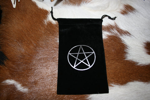 Pentagram Tarot Bag - Eldertree Apothecary
