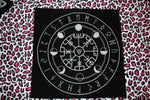 Vegvísir Altar/Tarot cloth - Eldertree Apothecary