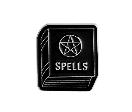 Spell book Pin - Eldertree Apothecary