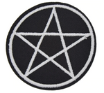 Pentagram Patch - Eldertree Apothecary