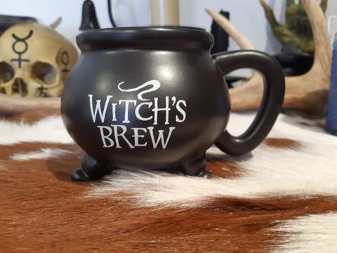 Witches Brew Cauldron Mug - Eldertree Apothecary
