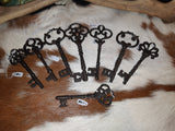 Cast Iron Keys - large - Eldertree Apothecary
