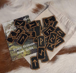 Wooden Rune Tile Set - by Yiska Designs - Eldertree Apothecary