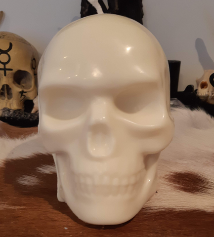 Mega Skull Candle - Eldertree Apothecary
