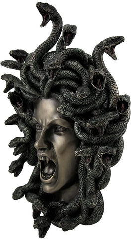 Head of Medusa Wall Plaque - Eldertree Apothecary