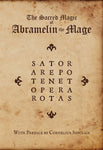 The Sacred Magic of Abramelin The Mage - Paperback - Eldertree Apothecary
