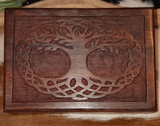 Tree of Life Carved Box - Eldertree Apothecary
