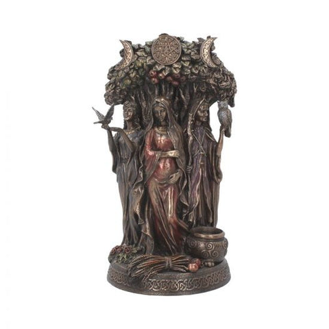 Maiden, Mother, Crone Statue 27cm - Eldertree Apothecary