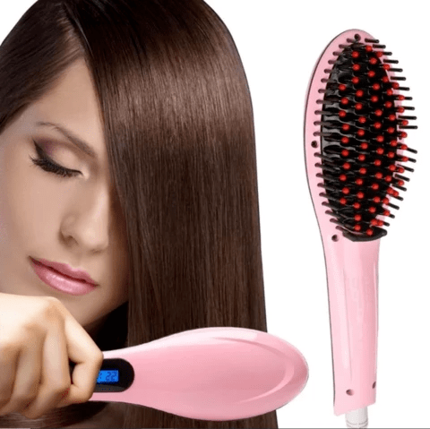 STRAIGHTENER BRUSH - GET SALON LIKE HAIR AT HOME!