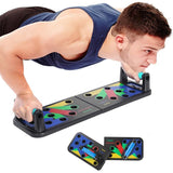 9 In 1 Foldable Pushup Board