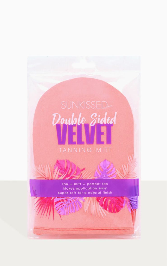 Sunkissed Double Sided Velvet Tanning Mitt