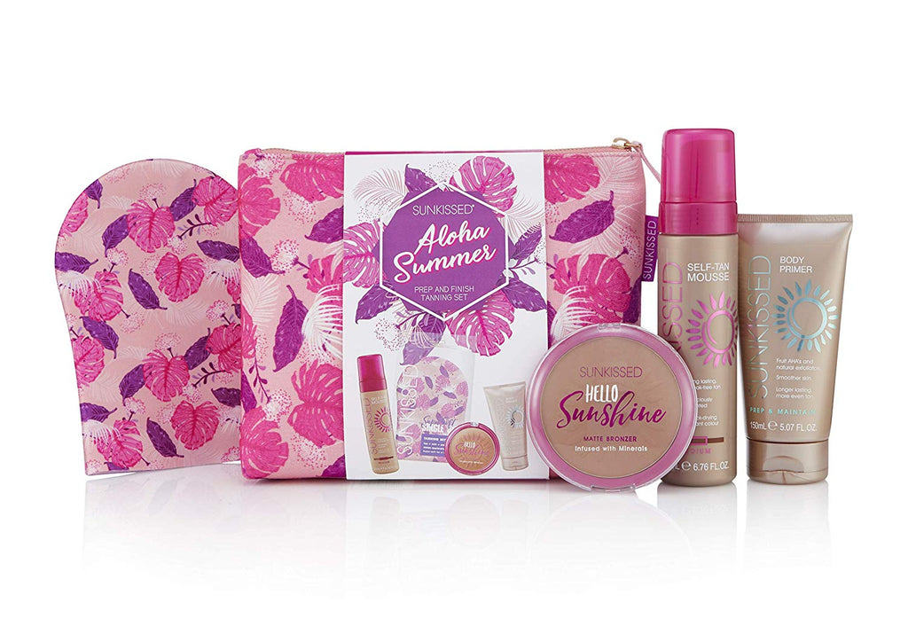 Sunkissed Aloha Summer Tanning Gift Set