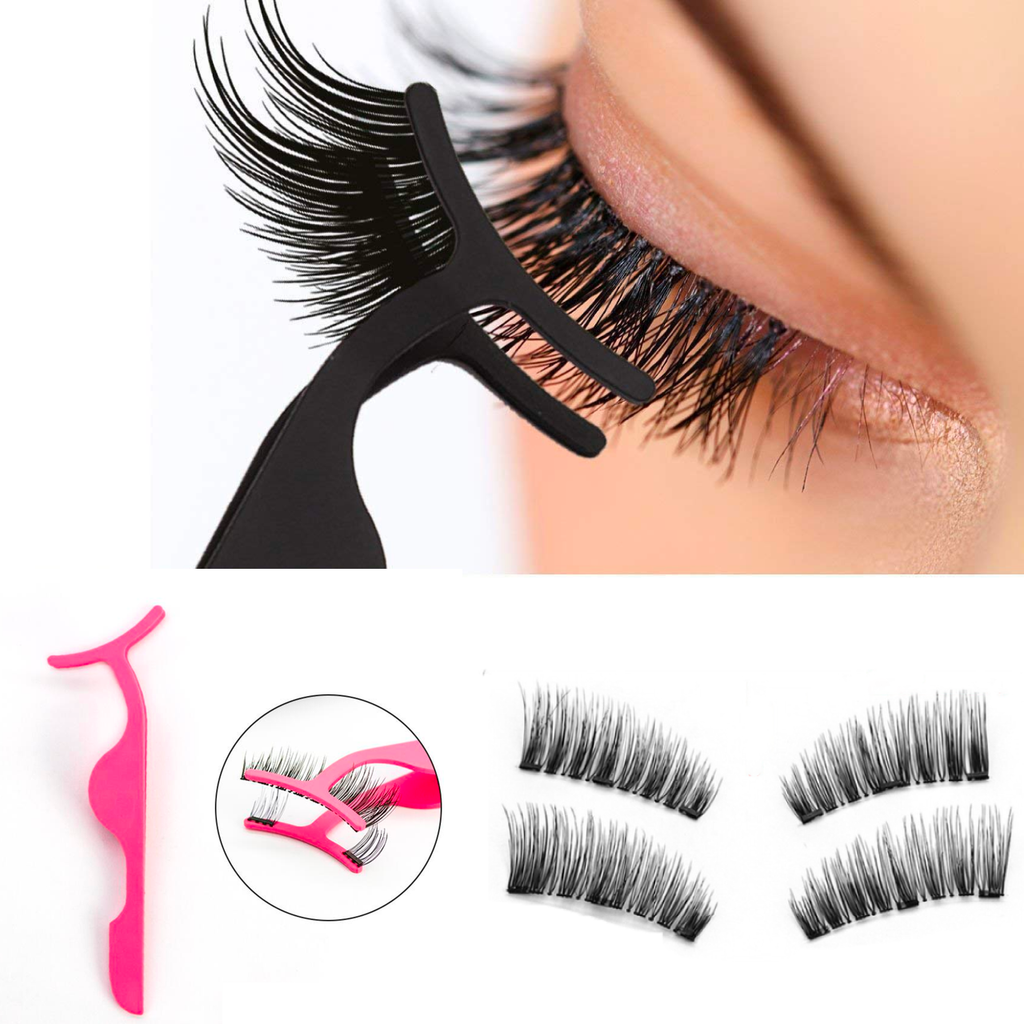 Cruelty Free 6D Magnetic Eyelashes Kit With Applicator