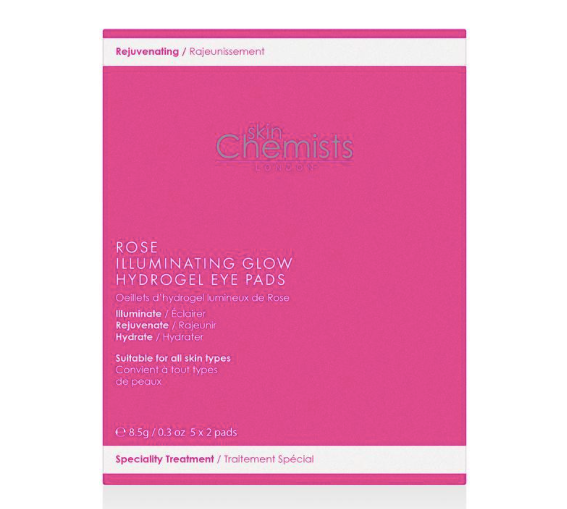 Rose Illuminating Glow Instant Hydrogel Eye Pads