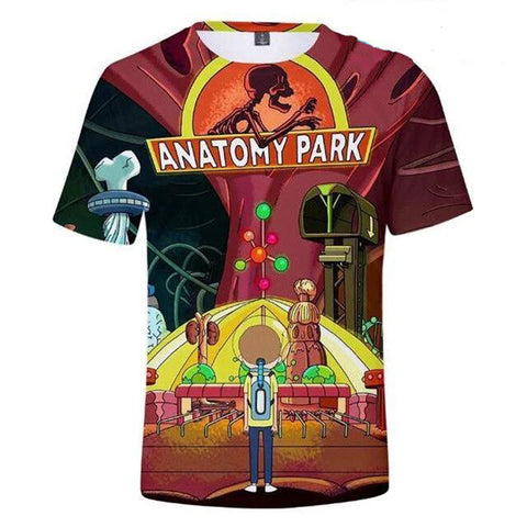 T-shirt anatomy park