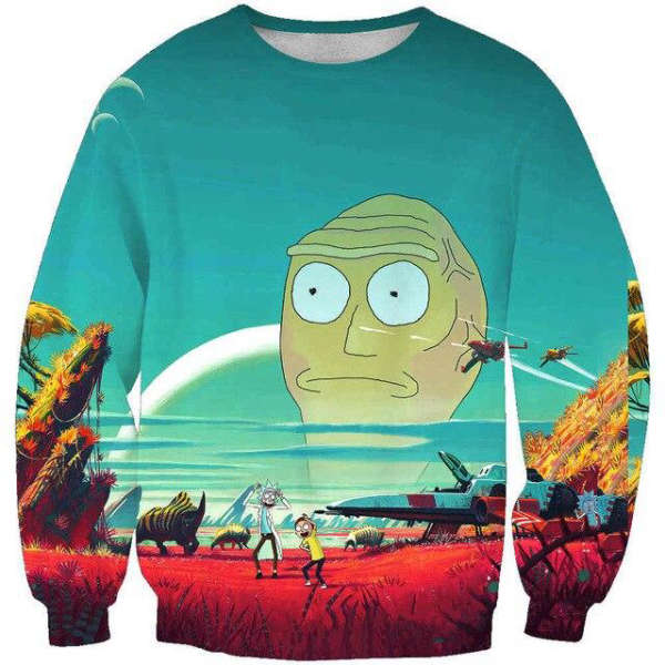 Pull Rick et Morty  Cromulon