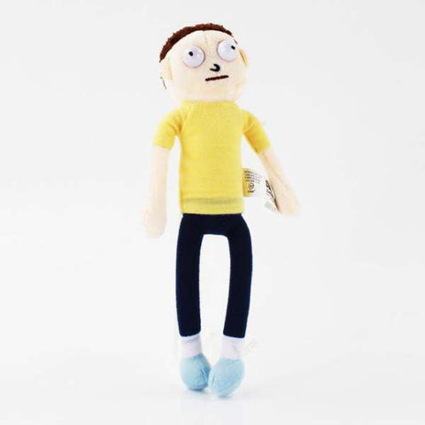 Peluche Rick et Morty Morty Smith