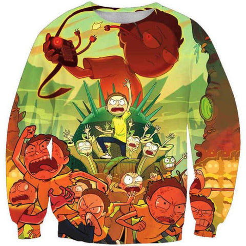 Pull Rick et Morty  Révolte des Morty