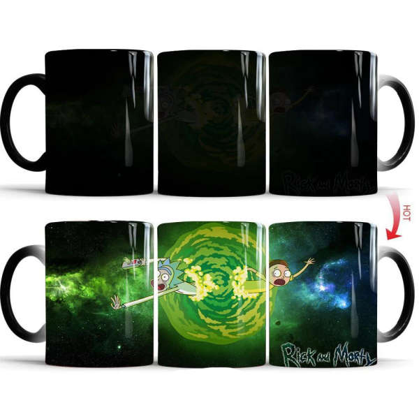Mug Rick and Morty Portail