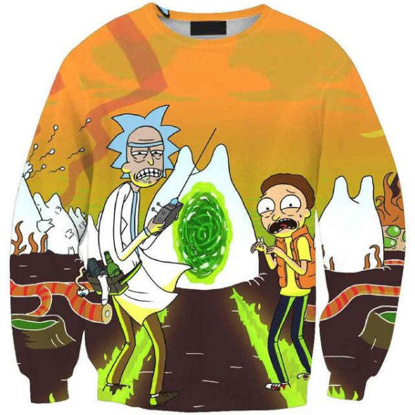 Pull Rick et Morty  flagelle