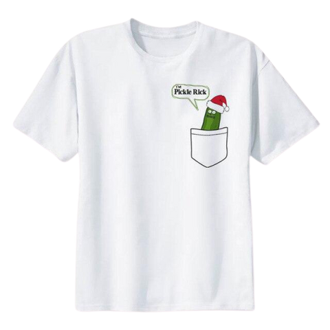 rick and morty pickle t shirt