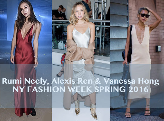 NY Fashion Week Spring 2016 trendsetters