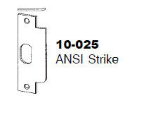 10-025 ANSI Strike - Doors and Specialties Co.