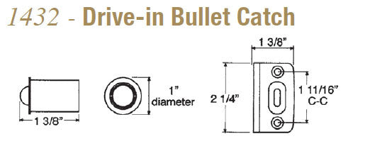 Taymor 1432 Drive-in Bullet Catch