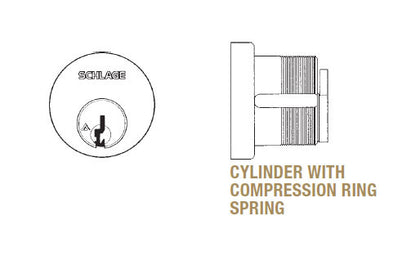 09-485 Mortise Cylinder - Doors and Specialties Co.