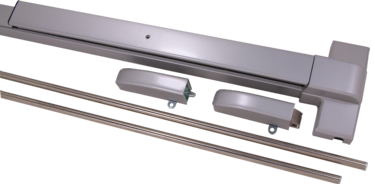 F2000V GRADE1 MEDIUM DUTY SURFACE VERTICAL ROD EXIT DEVICE (Fire Rated) - Doors and Specialties Co.