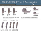 2000R Grade 1 Medium Duty Rim Exit Device (Non Fire Rated) - Doors and Specialties Co.