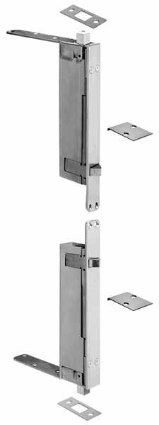 Automatic Flush Bolt - 2942 - Doors and Specialties Co.