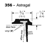 T & Overlapping Astragals-356 - Doors and Specialties Co.