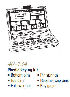 40-134 Plastic Keying Kit - Doors and Specialties Co.
